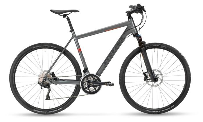 Crossbike Stevens 7X Gent Meteor Grey 2021