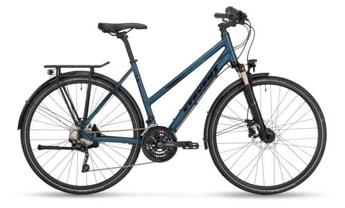Trekkingbike Stevens 6X Tour Lady Moonlight Blue 2021