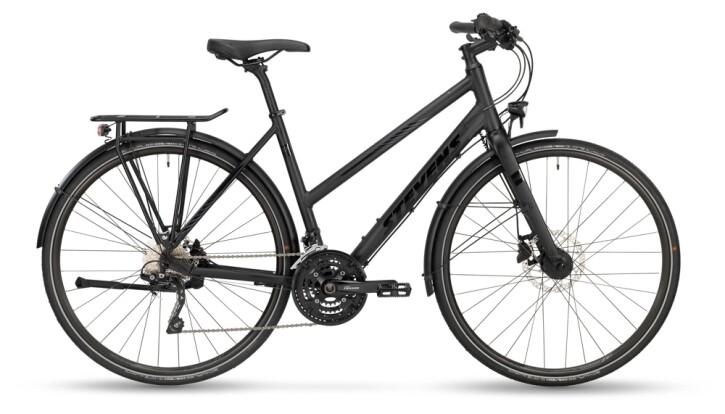 Trekkingbike Stevens 6X Lite Tour Lady Stealth Black 2021