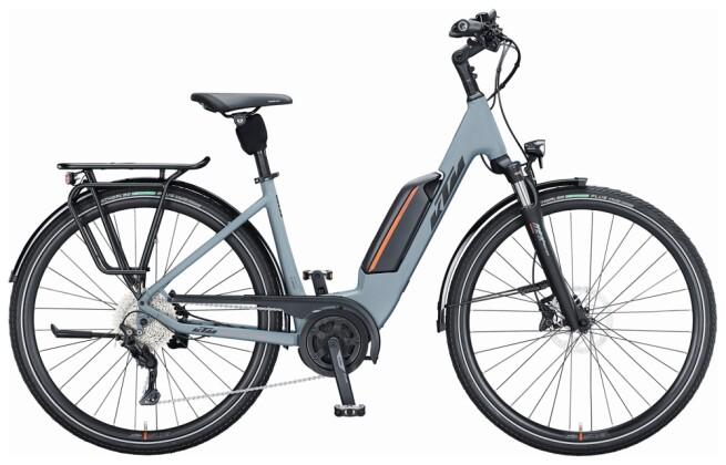 e-Trekkingbike KTM MACINA FUN P510 US grey 2021