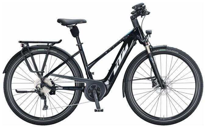 e-Trekkingbike KTM MACINA TOUR P610 D black/white 2021