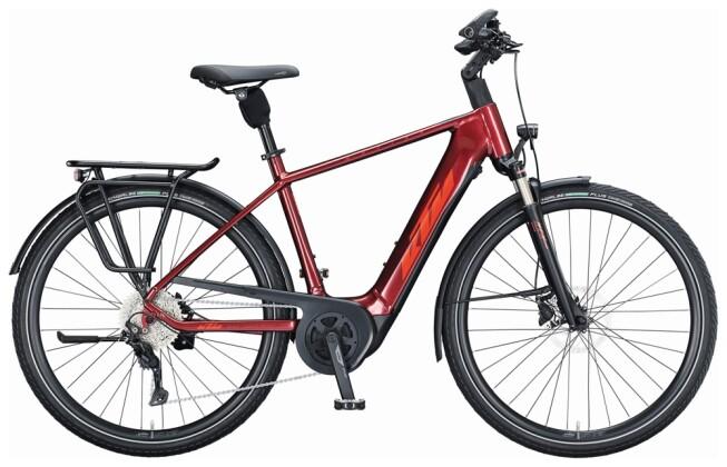 e-Trekkingbike KTM MACINA TOUR P610 H red 2021