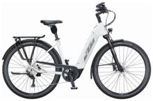 e-Trekkingbike KTM MACINA TOUR CX 610 US white