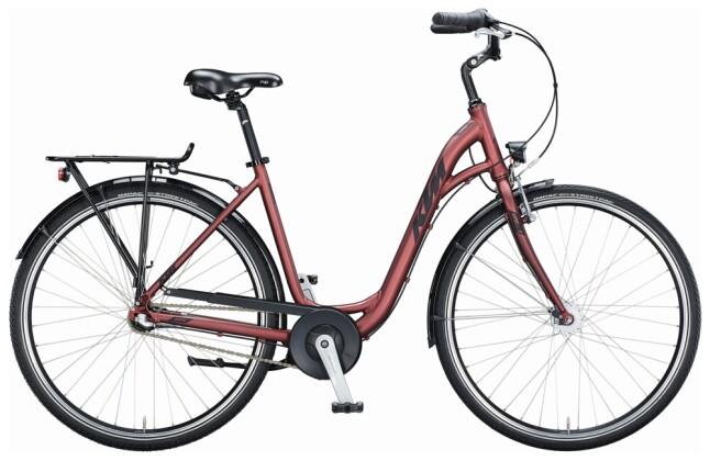 Citybike KTM CITY FUN 28 D-W bordeaux 2021