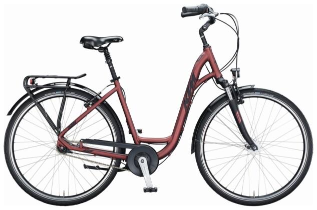 Citybike KTM CITY LINE 28 D-W bordeaux 2021