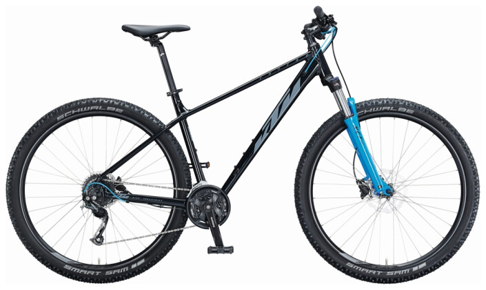 Mountainbike KTM CHICAGO DISC 291 black 2021