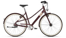 Citybike Raleigh HALIFAX 8 Mixte mahagonyred