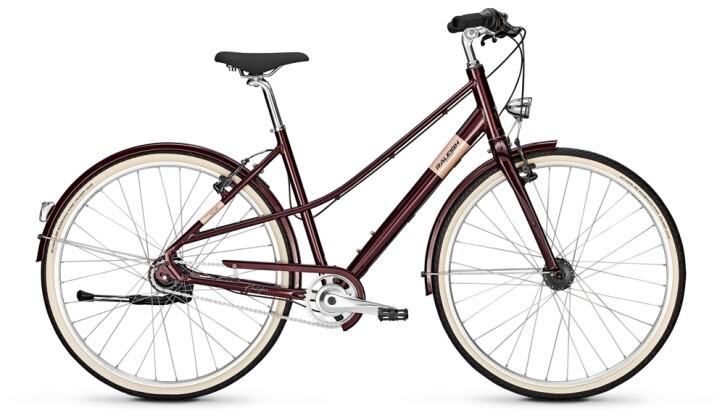 Citybike Raleigh HALIFAX 8 Mixte mahagonyred 2021