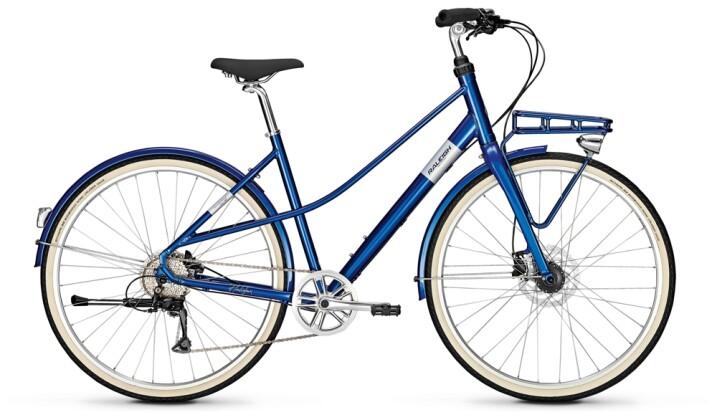 Urban-Bike Raleigh HALIFAX 9 Mixte blue 2021