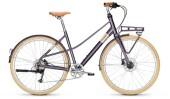 Urban-Bike Raleigh HALIFAX 9 Mixte purple