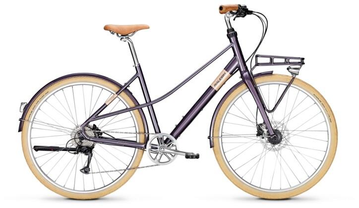 Urban-Bike Raleigh HALIFAX 9 Mixte purple 2021