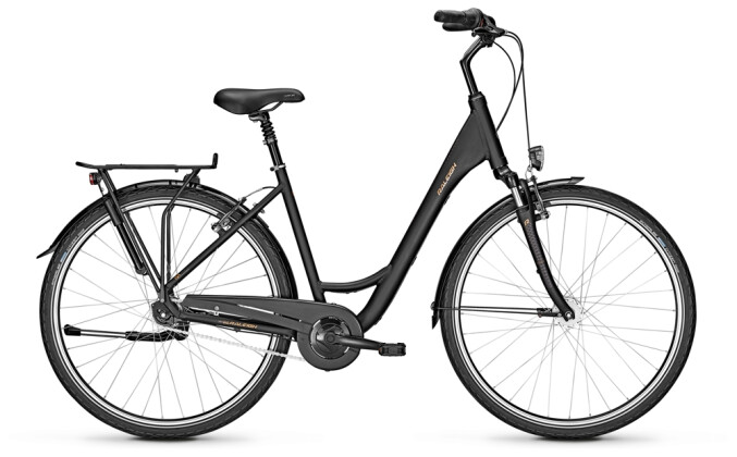 Citybike Raleigh CHESTER 7 Wave black 2021