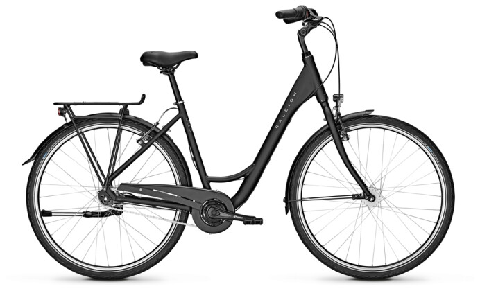 Citybike Raleigh DEVON 7 Wave black 2021
