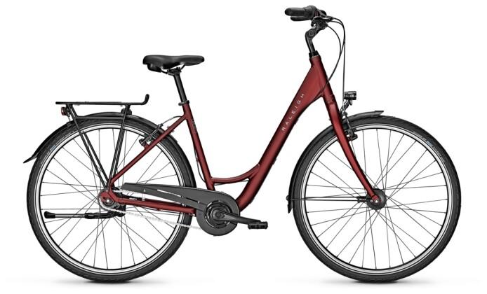 Citybike Raleigh DEVON 8 Wave red 2021
