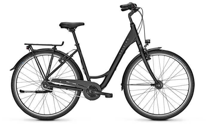 Citybike Raleigh DEVON 8 Wave black 2021