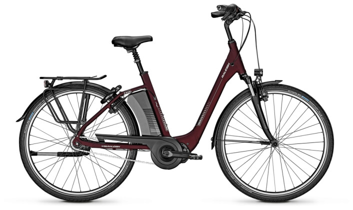 e-Citybike Raleigh CORBY 8 Comfort red 2021