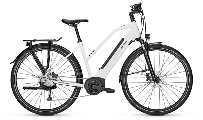 e-Trekkingbike Raleigh KENT 9 Trapez white 2021