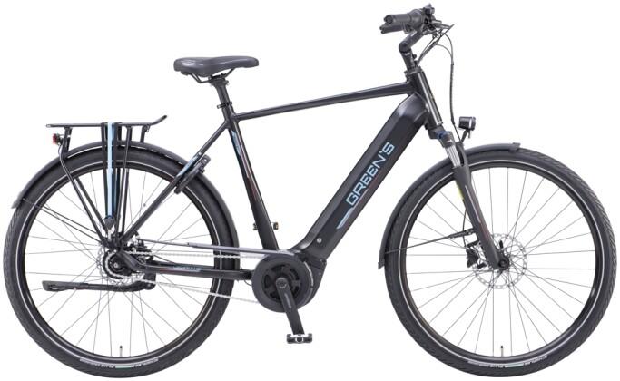 e-Citybike Green's Bromley FL black matt 2021