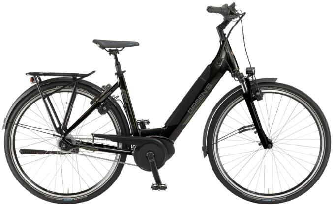 e-Citybike Green's Ashford black 2021