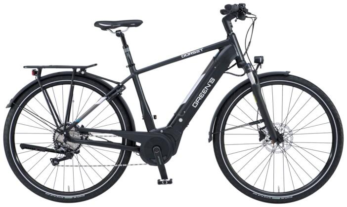 e-Trekkingbike Green's Dorset black matt 2021