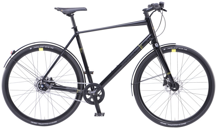 Trekkingbike Green's Chester black 2021