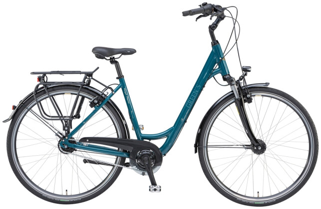 Trekkingbike Green's Royal Ascot teal 2021