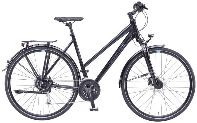 Trekkingbike Green's Blackness black 2021