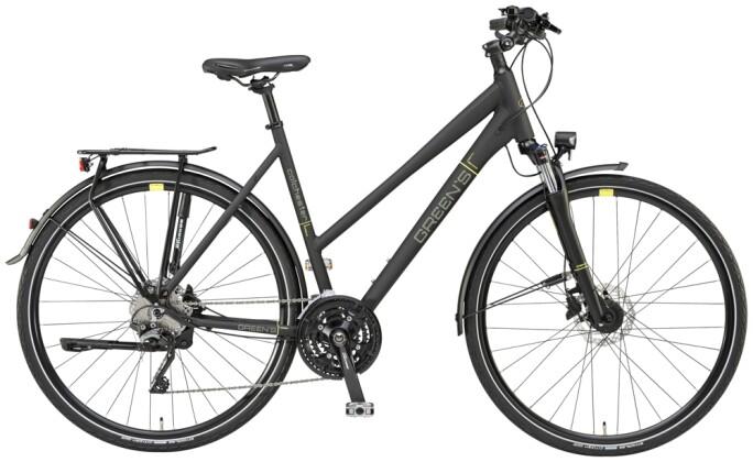 Trekkingbike Green's Colchester black matt 2021