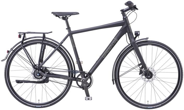 Trekkingbike Green's Leeds black matt 2021