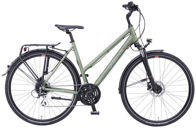 Trekkingbike Green's Kensington olive green matt 2021
