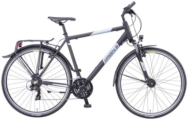 Trekkingbike Green's Dundee black matt 2021