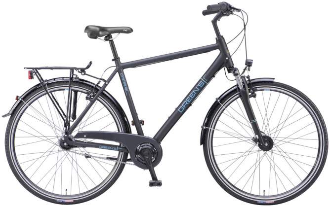 Trekkingbike Green's Chelsea black matt 2021
