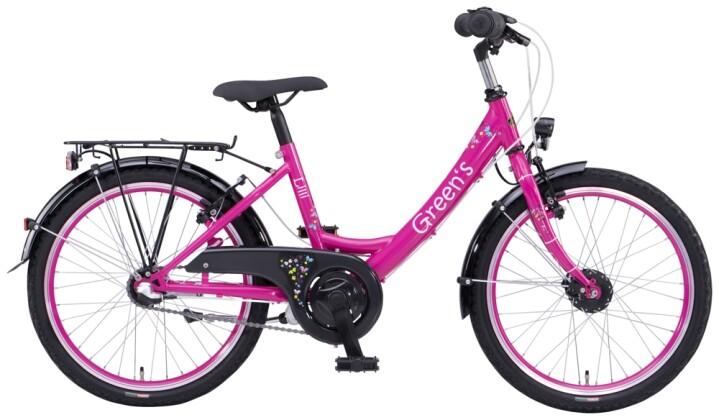 Kinder / Jugend Green's Lilli 20 Zoll pink 2021