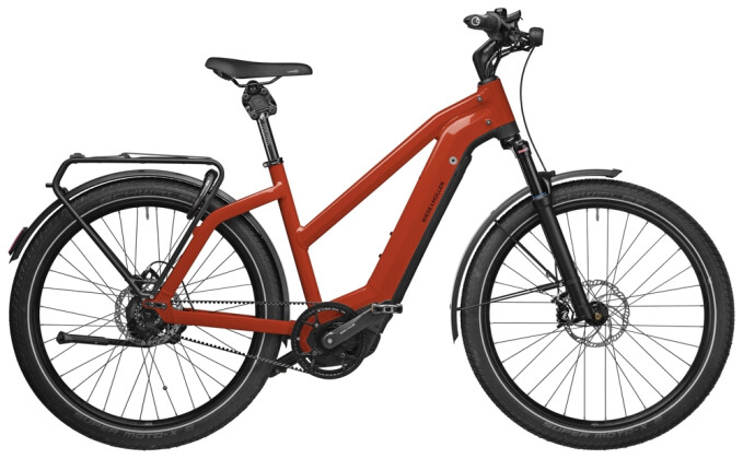 e-Trekkingbike Riese und Müller Charger3 Mixte GT rohloff 625 Wh 2021