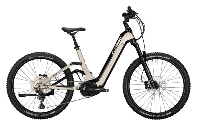 e-Mountainbike Conway Cairon SUV FSX 527 platin matt / black 2021
