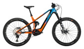 e-Mountainbike Conway Xyron S 827 pearl red / blue fade
