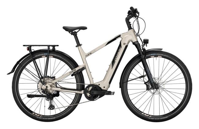 e-Trekkingbike Conway Cairon T 600 Trapez platin matt / black 2021