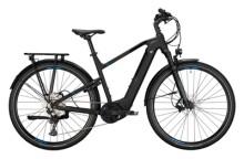 e-Trekkingbike Conway Cairon T 500 Wave black matt / blue