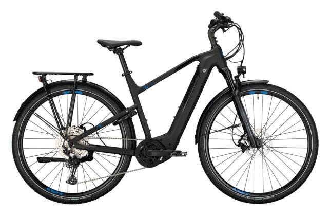 e-Trekkingbike Conway Cairon T 500 Trapez black matt / blue 2021