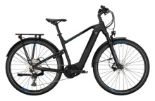 e-Trekkingbike Conway Cairon T 500 Diamant black matt / blue
