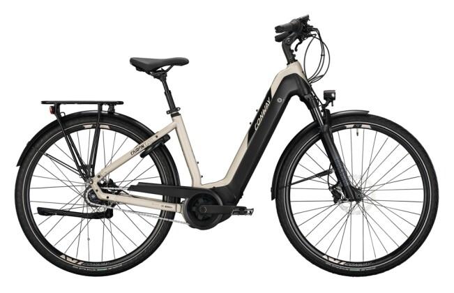 e-Citybike Conway Cairon T 450 RBN platin matt / black 2021