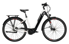 e-Citybike Conway Cairon T 380 625 RBN white / red black