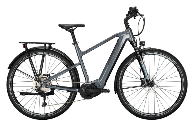 e-Trekkingbike Conway Cairon T 300 625 Trapez silver / shadowgrey 2021