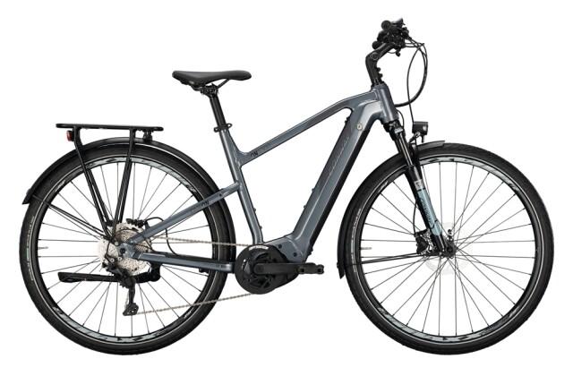 e-Trekkingbike Conway Cairon T 300 500 Trapez silver / shadowgrey 2021