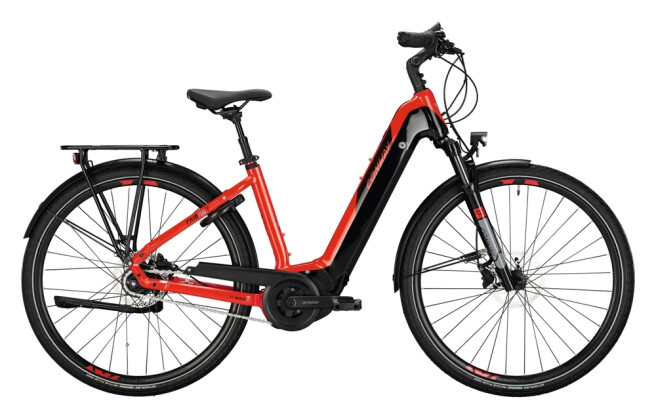 e-Citybike Conway Cairon T 270 red / black 2021