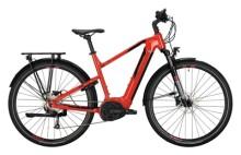 e-Trekkingbike Conway Cairon T 200 Trapez red / black