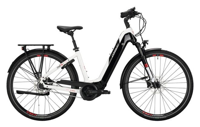 e-Citybike Conway Cairon T 270 white / black 2021