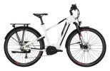 e-Trekkingbike Conway Cairon T 200 Trapez white / black