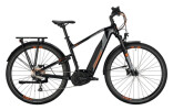 e-Trekkingbike Conway Cairon T 100 500 Trapez black / grey orange