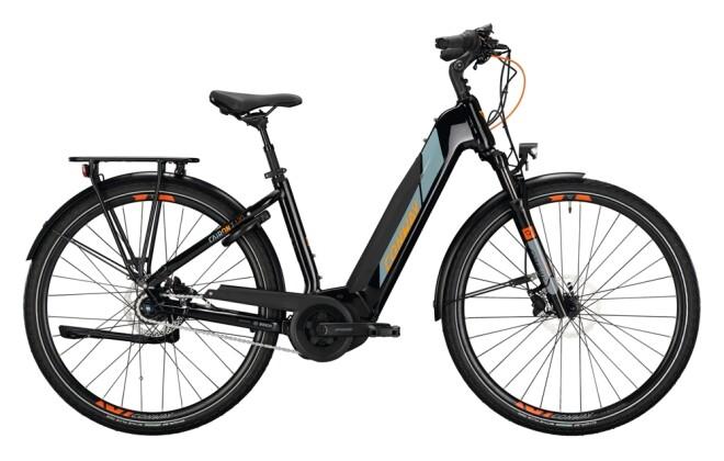 e-Trekkingbike Conway Cairon T 170 400 black / grey orange 2021